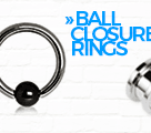 Ball closure rings
