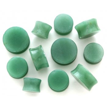 Green Jade Saddle Plugs