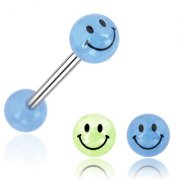 Glow in the Dark Smiley Tongue Bar
