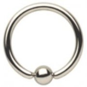 0.8mm Surgical Steel Ball Closure Ring