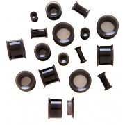 Black Acrylic Screw Fit Eyelets