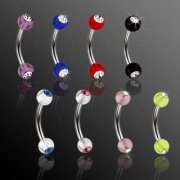 UV Gem Micro Barbell
