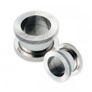 Diamond Cut Screw Fit Tunnels