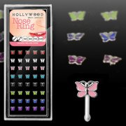 Butterfly Nose Bone Stud
