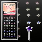 Gem Star Nose Bone Stud