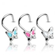Butterfly Nose Stud Coil
