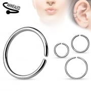 Seamless surgical steel ring