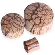 Root Wood Flesh Tunnel Plug